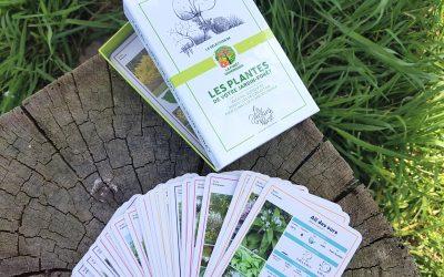 Jeu de cartes pédagogique pour créer son jardin-forêt